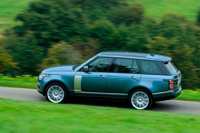 Новый Range Rover. Рестайлинг 2018