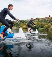 Manta5 выпустила водный велосипед Hydrofoiler XE-1 | видео