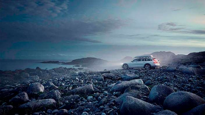2017 Volvo V90 Cross Country Volvo Ocean Race