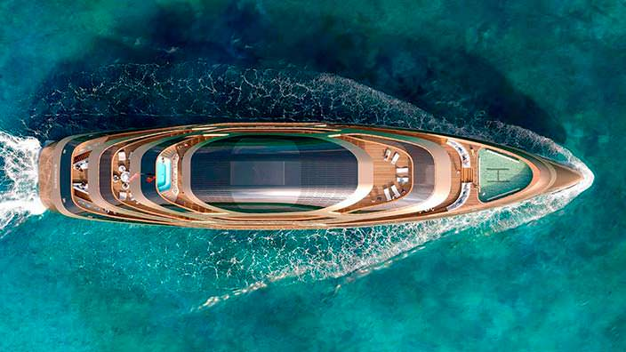 77-метровая яхта Benetti Se77antasette