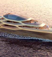 В Монако показана яхта будущего Benetti Se77antasette | фото