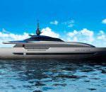 Paszkowski обновил дизайн яхты Baglietto 43M Fast | фото