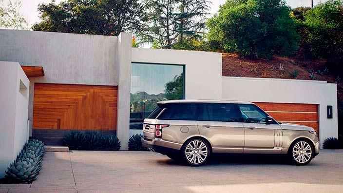 Новый Range Rover SAVutobiography