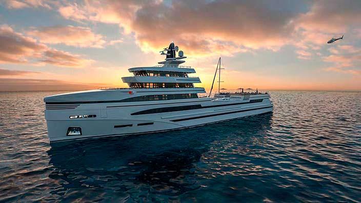 85-метровое исследовательское судно от Rosetti Marino Group
