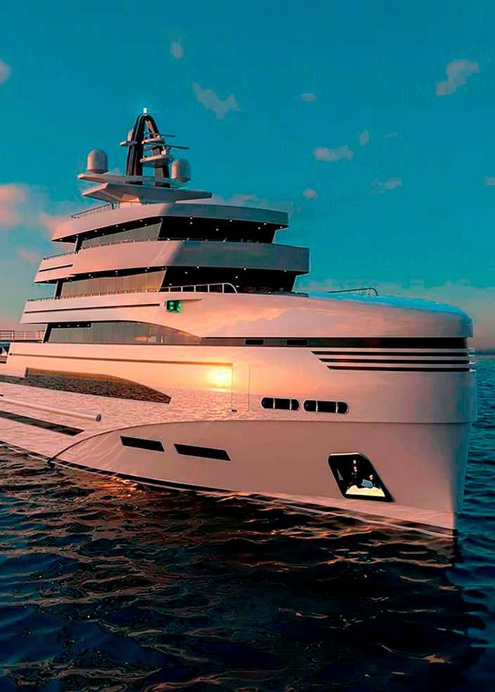 Яхта длиной 85 метров от Rosetti Marino Group