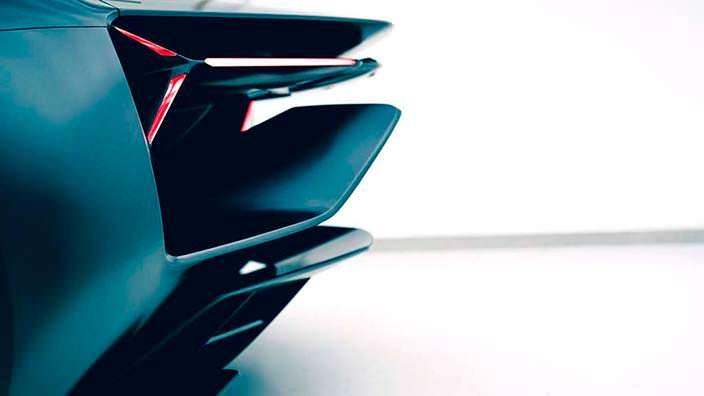 Электро-суперкар Lamborghini Terzo Millennio