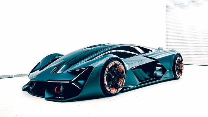 Аэродинамическая Lamborghini Terzo Millennio