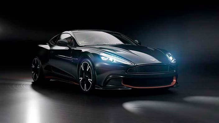 Спорткар Aston Martin Vanquish S Ultimate Edition