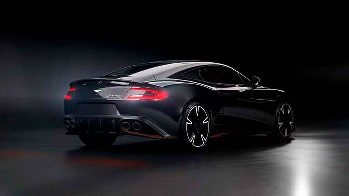 Прощальный Aston Martin Vanquish S Ultimate Edition