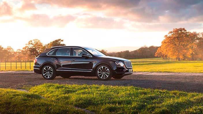 Внедорожник для охоты Bentley Bentayga Field Sports