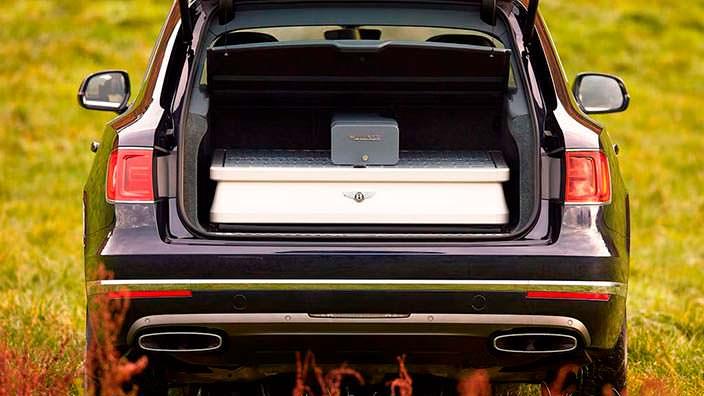 Охотничье снаряжение Bentley Bentayga Field Sports