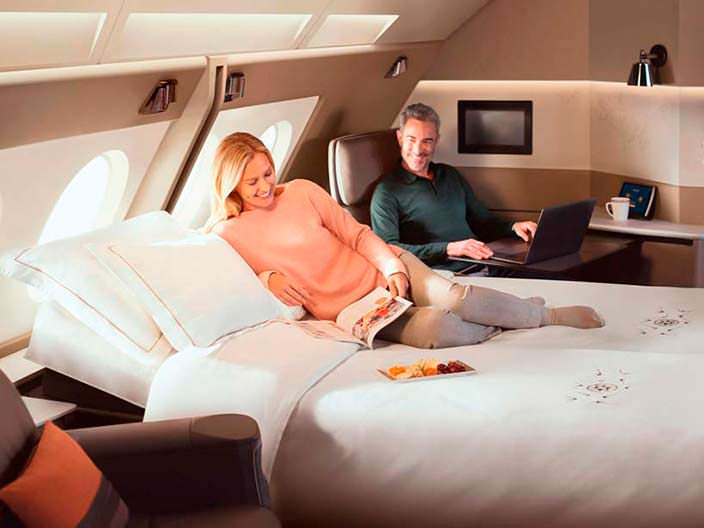 Новый бизнес-класс Airbus A380 от Singapore Airlines