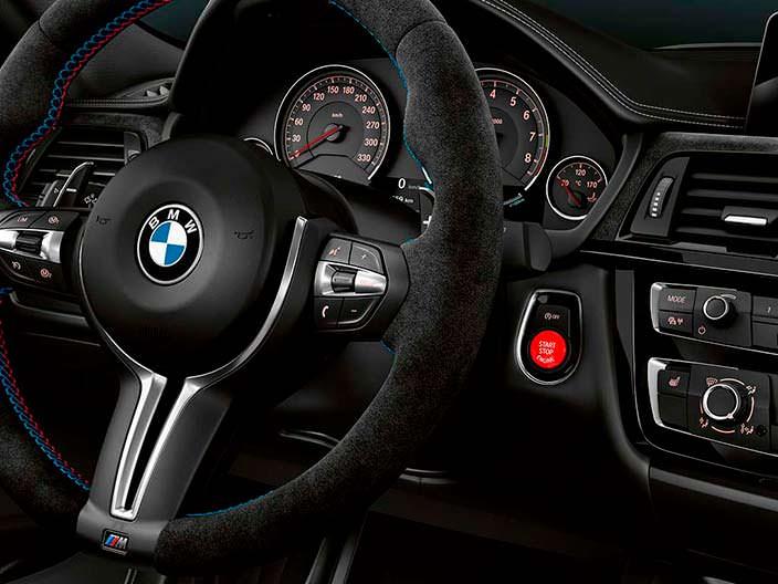 Спортивный руль BMW M3 CS