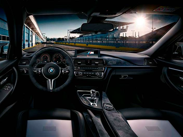 Кожаный салон BMW M3 CS