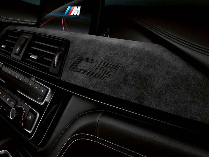 Интерьер BMW M3 CS