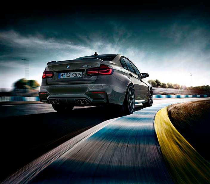 Новая BMW M3 CS