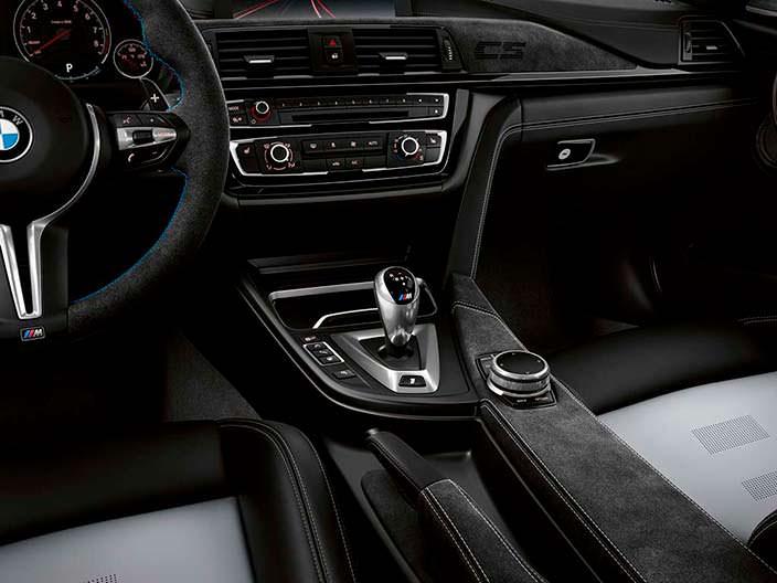 Кожаная отделка салона BMW M3 CS