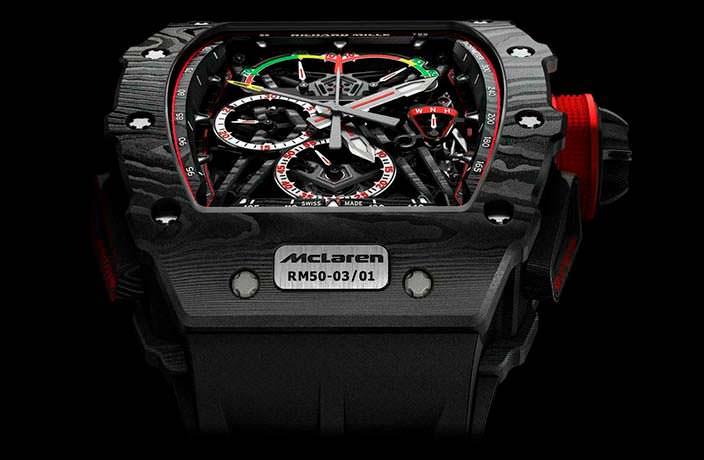 Часы McLaren F1 с турбийоном от Richard Mille