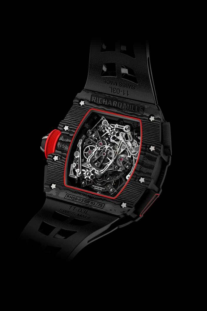 Самые легкие часы Richard Mille: всего 7 граммов