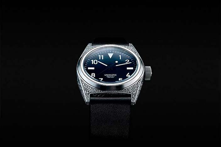 Часы ручной работы Unimatic Modello Due