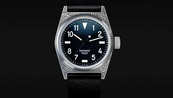 Unimatic показала уникальные часы ручной работы Modello Due