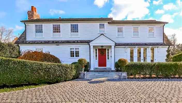 Актриса Энн Хэтэуэй купила дом в Коннектикуте | фото и цена