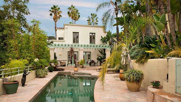 Дом в средиземноморском стиле актрисы Хэлли Берри в Голливуде