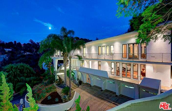 Дом актрисы Кэти Гриффин в Лос-Анджелесе