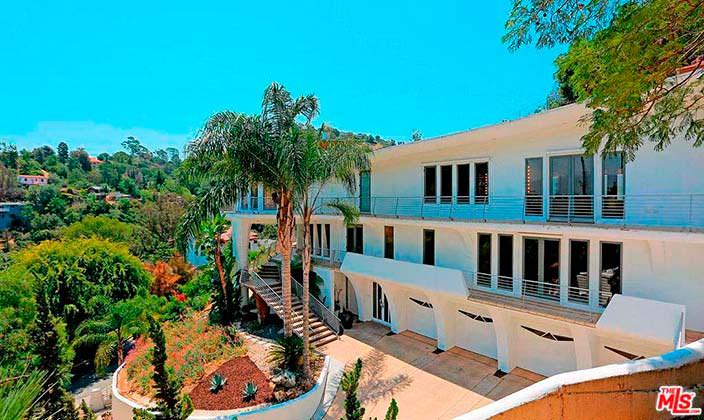 Дом в Голливуде актрисы Кэти Гриффин