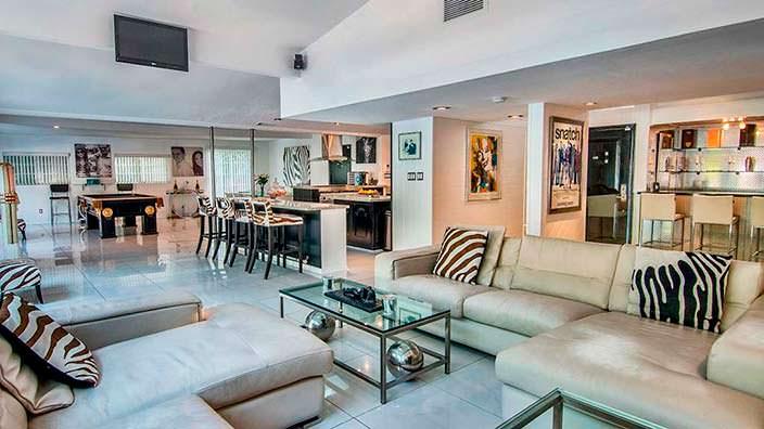 Дом в стиле модерн актера Винни Джонса