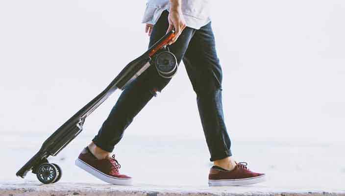 Создан электрический скейтборд нового поколения Stark Mobility