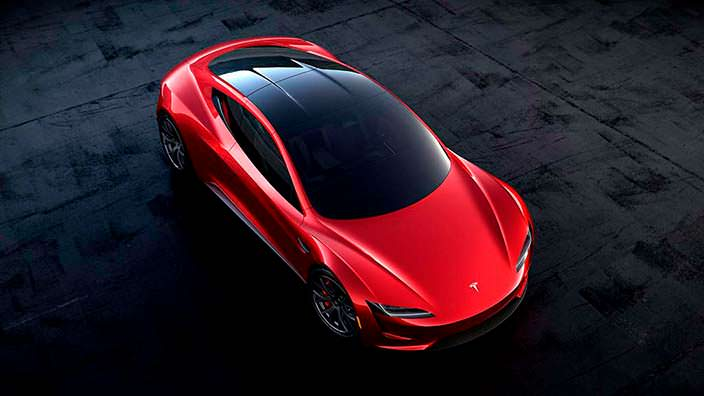 Новый Tesla Roadster 2020 года