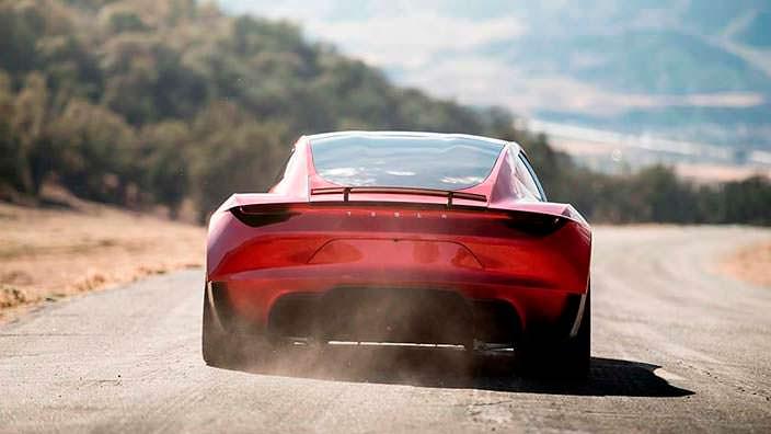 Электрический суперкар Tesla Roadster нового поколения