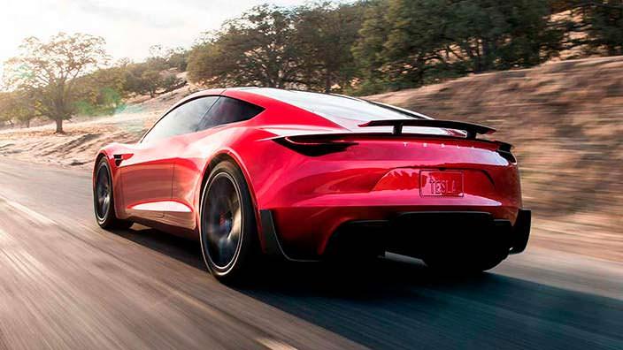 Электро-спорткар Tesla Roadster нового поколения