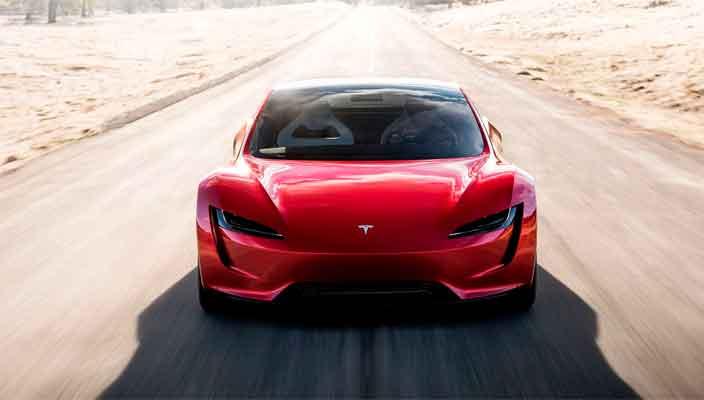 Новый электро-спорткар Tesla Roadster официально | фото