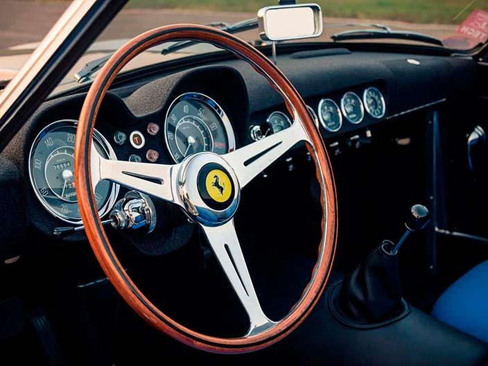 Деревянный руль Ferrari 250 GT LWB California