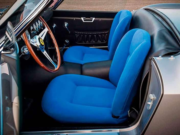 Оригинальный салон Ferrari 250 GT LWB California