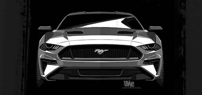 Рисунок Ford Mustang