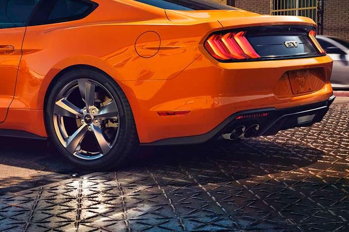 Рестайлинг Ford Mustang 2017