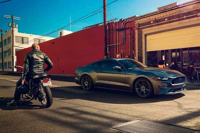 Рестайлинг Форд Мустанг 2017