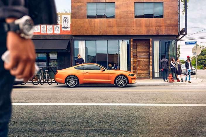 Обновление Ford Mustang