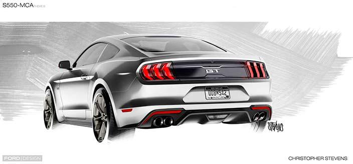 Новый Mustang