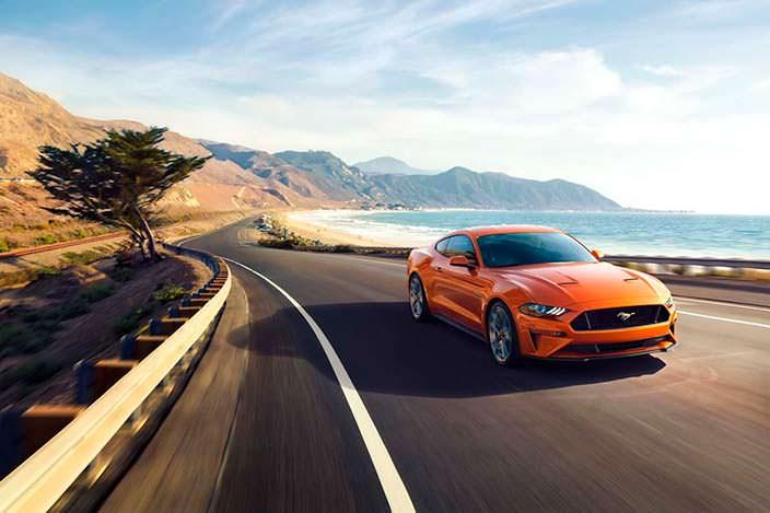 Ford Mustang рестайлинг