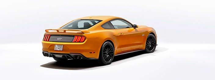 Новый Mustang 2018