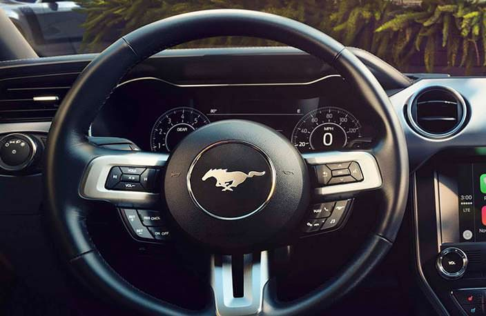 Руль Ford Mustang 2018