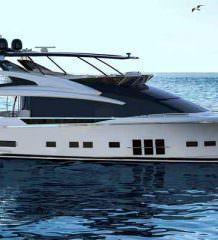 Adler построит флагманскую гибридную яхту Suprema XL | фото
