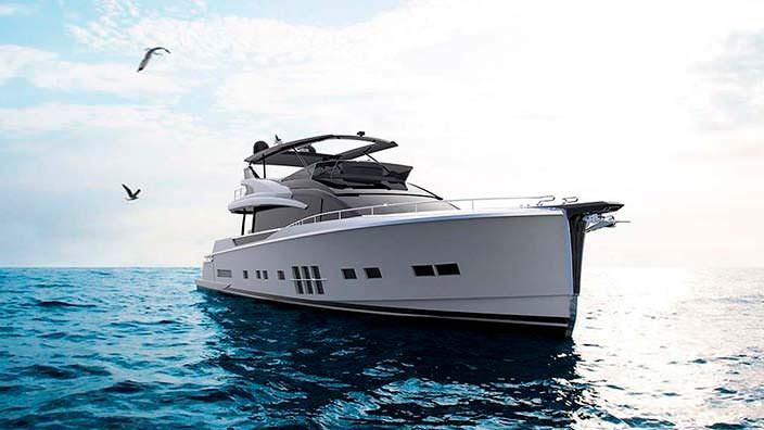 Яхта длиной 25 метров Adler Suprema XL