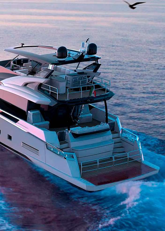 Дизель-электрическая яхта Adler Suprema XL
