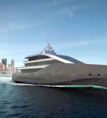 Rolls-Royce показал гибридную яхту Crystal Blue | фото, видео