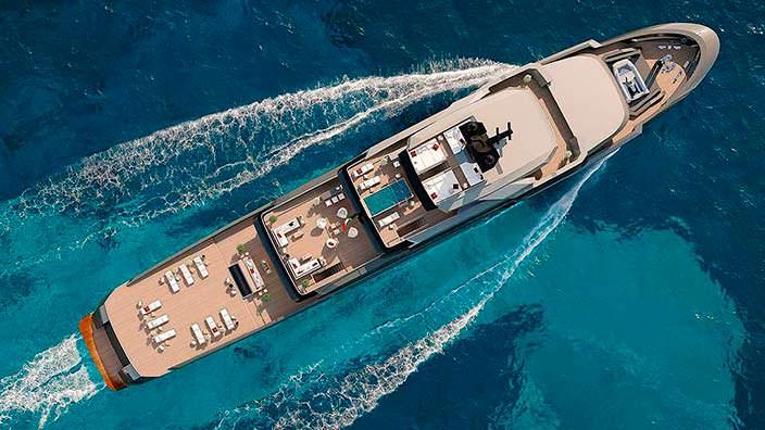 Исследовательское судно и элитная яхта 2-в-1 от VSY